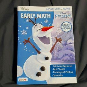 Disney Frozen Math Geometry workbook GD4